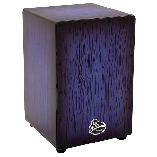 Latin Percussion Aspire Accents Cajon [LPA1332] - Blue Burst Streak - Cajon / Drum Box